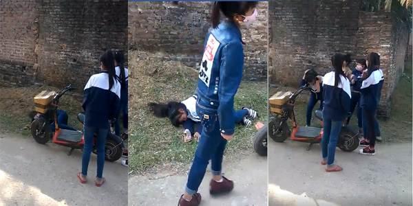 Nữ sinh dùng gạch đập vào đầu bạn ở Bắc Giang: Do mâu thuẫn trên facebook - Ảnh 1