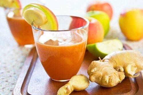 Trộn gừng với cà rốt rồi ép lấy nước uống buổi sáng, bạn sẽ sốc vì kết quả sau đó 2 ngày - Ảnh 1