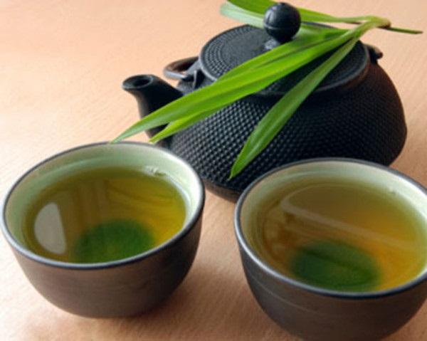 Giảm cân hiệu quả với nước trà xanh