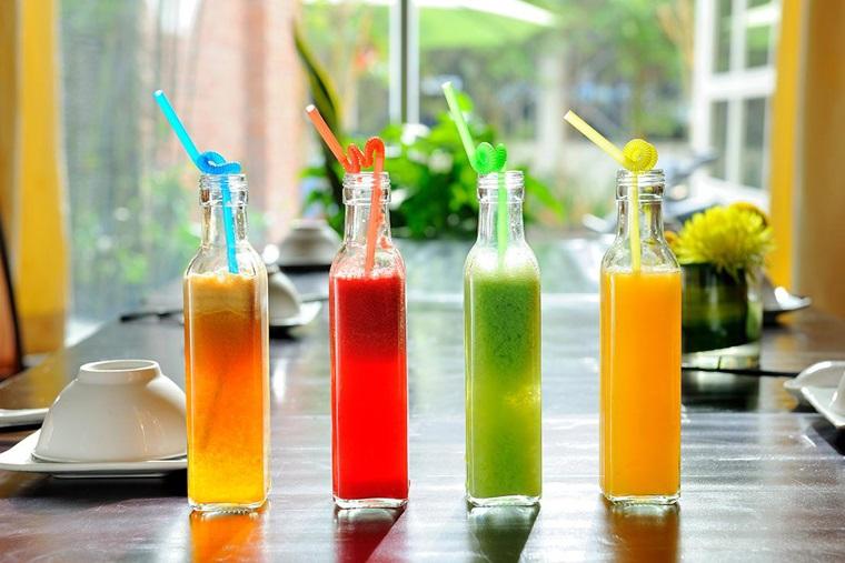Nước ép trái cây là loại nước uống luôn có mặt trong các thực đơn giảm cân nhanh chóng