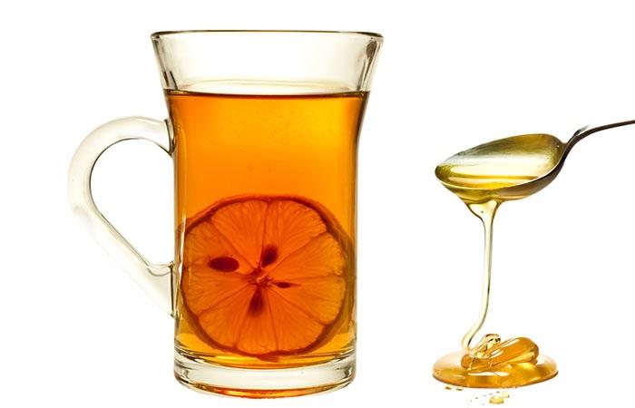 Nước uống giảm cân sau sinh phổ biến được nhiều mẹ yêu thích nhất là nước chanh mật ong