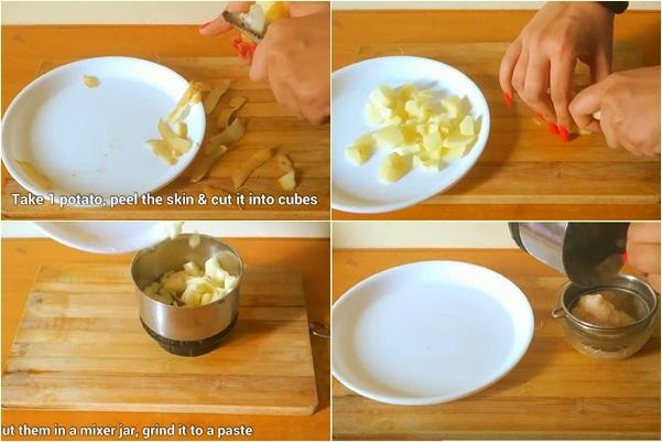 Lấy nước ép khoai tây xịt lên mặt theo cách này, da trắng bóc, sạch mụn và hết thâm chỉ sau vài ngày - Ảnh 1