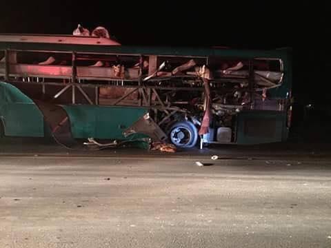 Nổ xe khách giường nằm, 2 người chết, 8 bị thương - Ảnh 2