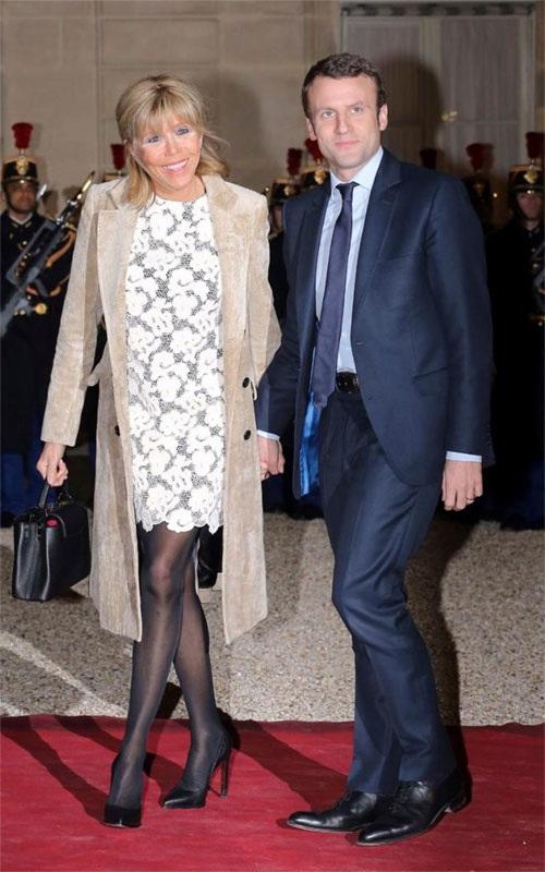 Phong cách thời trang của vợ Tổng thống Pháp mới đắc cử - Ảnh 3