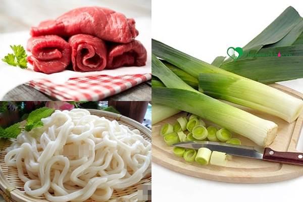 Cách làm mì Udon thơm ngon nức mũi đúng chuẩn hương vị Nhật - Ảnh 1