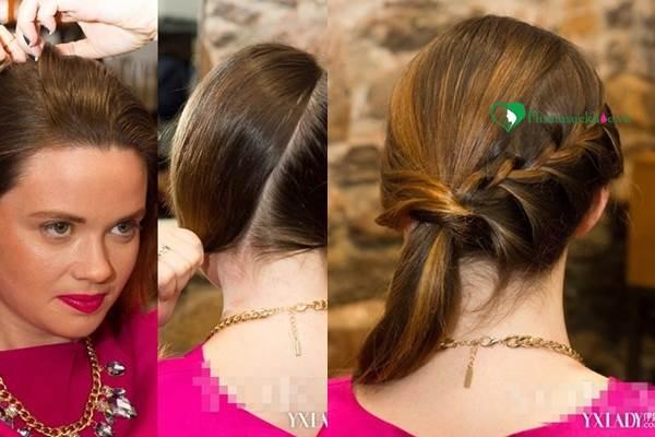 Dạy các kiểu tết tóc đẹp đơn giản mà ấn tượng cho bạn đi chơi cuối tuần - Ảnh 1
