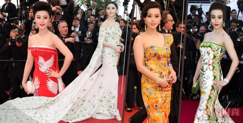 Những bộ cánh đẹp nhất của Phạm Băng Băng tại các mùa Liên hoan phim