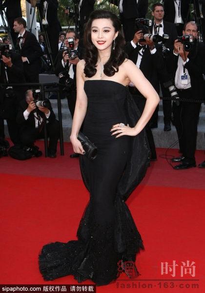 Những bộ cánh đẹp nhất của Phạm Băng Băng tại các mùa Liên hoan phim Cannes - Ảnh 9