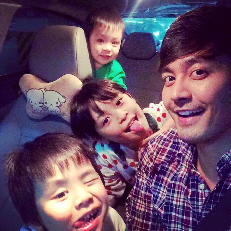 gia đình MC Phan Anh