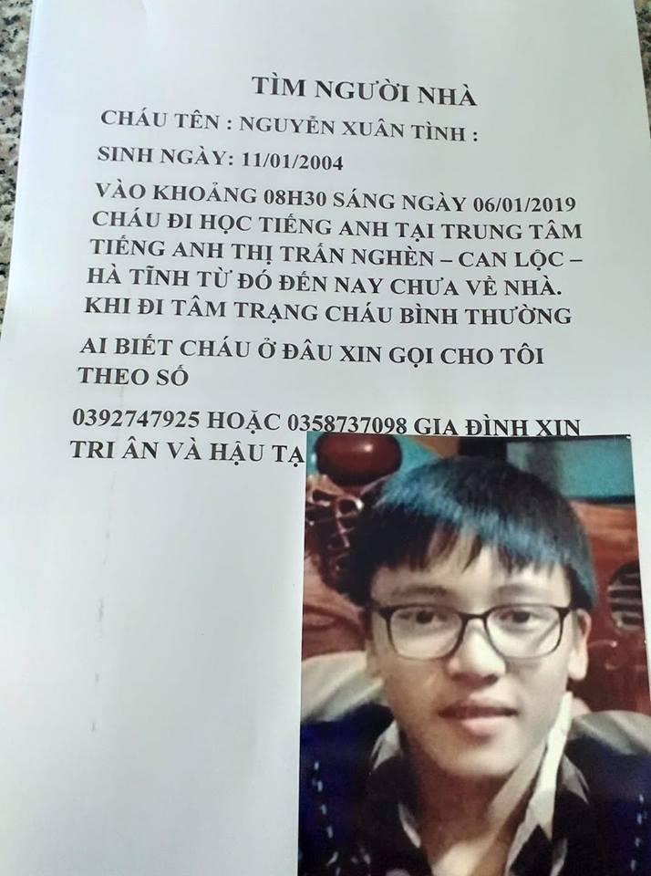 Người mẹ đi dán tờ rơi khắp nơi tìm con trai mất tích sau buổi đi học thêm - Ảnh 1