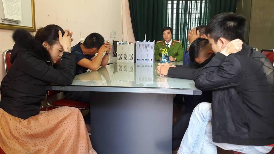 Nhóm đòi nợ thuê bằng cách khủng bố tinh thần bị công ăn bố ráp khi thác loạn tập thể trong khách sạn - Ảnh 2