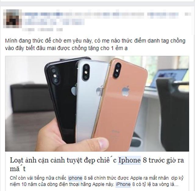 Choáng với cách kiếm tiền để mua iPhone 8 của hội chị em phụ nữ - Ảnh 8