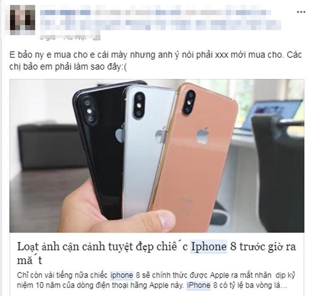 Choáng với cách kiếm tiền để mua iPhone 8 của hội chị em phụ nữ - Ảnh 9