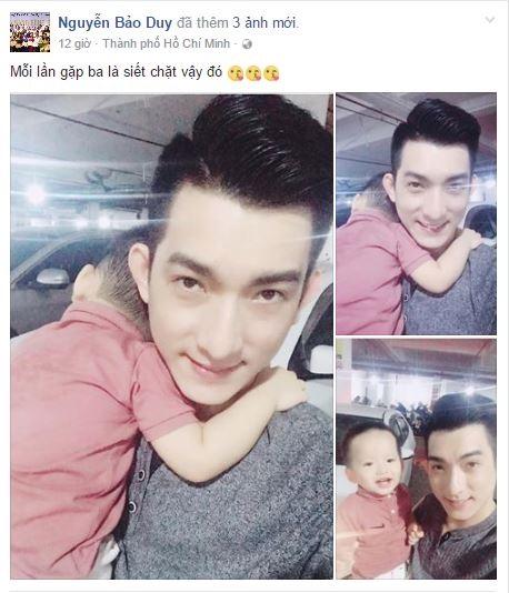 Chồng cũ Phi Thanh Vân 'trốn' vợ mới đến thăm con trong khi nữ diễn viên mặc sexy đi ăn với trai đẹp - Ảnh 1