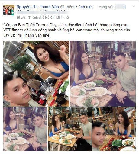Chồng cũ Phi Thanh Vân 'trốn' vợ mới đến thăm con trong khi nữ diễn viên mặc sexy đi ăn với trai đẹp - Ảnh 5