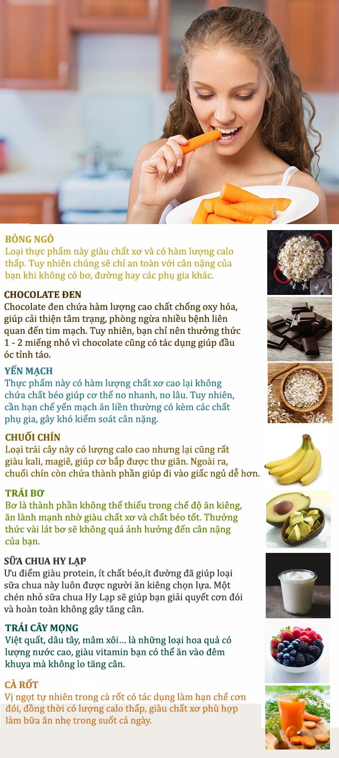 8 thực phẩm xoa dịu cơn đói đêm mà không lo tăng cân - Ảnh 1