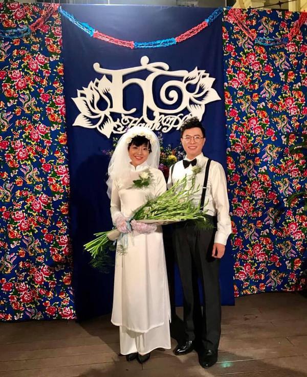 Thảo Vân tung 'ảnh cưới' với phi công trẻ, chồng cũ Công Lý bình luận khiến ai cũng bất ngờ - Ảnh 2