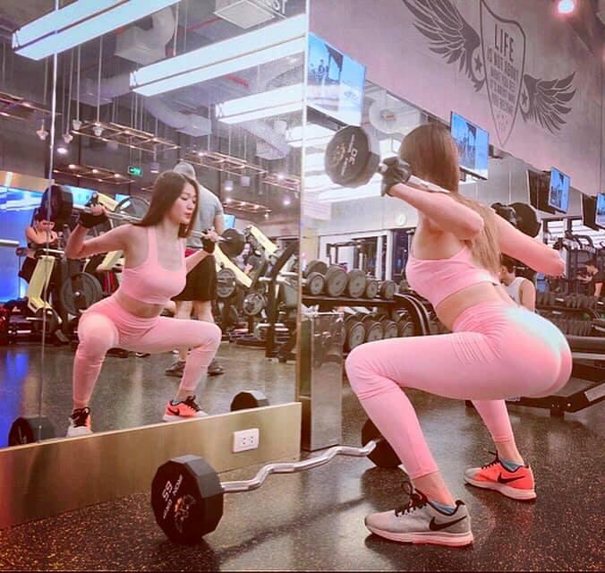 Soán ngôi Angela Phương Trinh, người đẹp từng từ chối tình cảm của Trường Giang đích thị là 'nữ hoàng phòng gym' - Ảnh 5