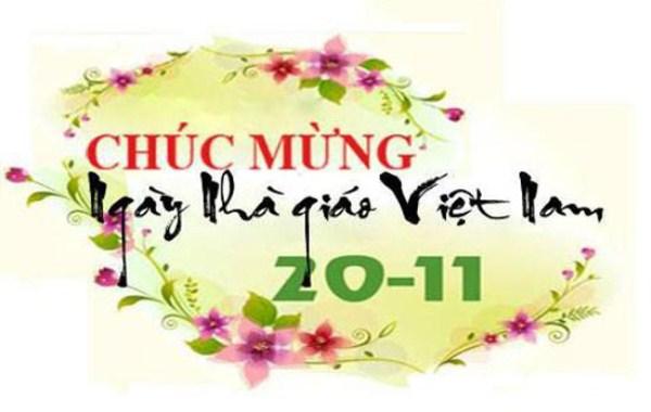 Ngày 20/11 - Ngày tôn vinh các nhà giáo Việt Nam