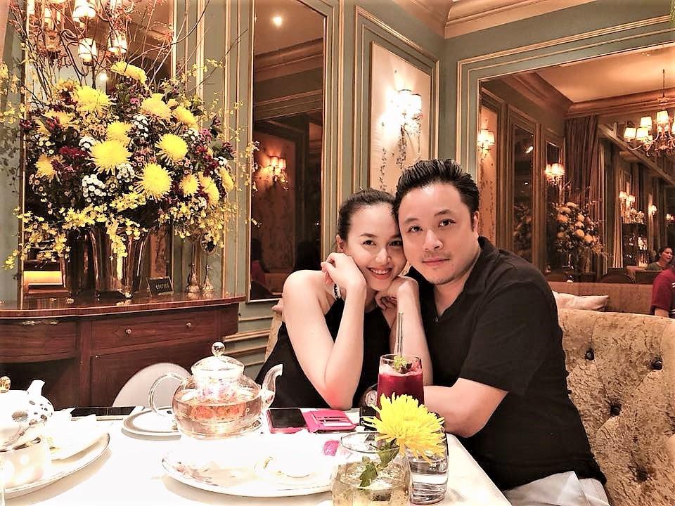 Vợ chồng Victor Vũ - Đinh Ngọc Diệp lần đầu khoe ảnh cận mặt quý tử đầu lòng - Ảnh 2