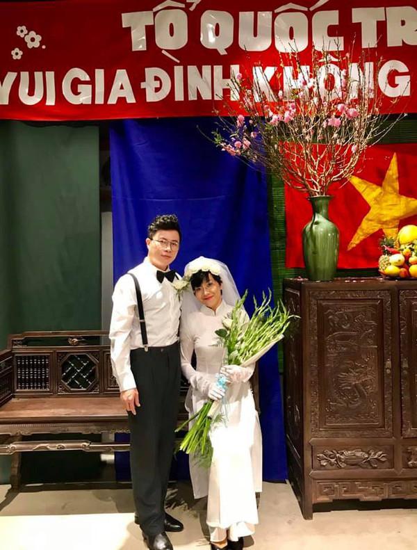 Thảo Vân tung 'ảnh cưới' với phi công trẻ, chồng cũ Công Lý bình luận khiến ai cũng bất ngờ - Ảnh 3