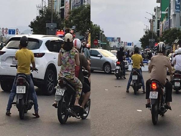 Dừng xe giữa đường nghe điện thoại, người đàn ông bị cư dân mạng chỉ trích dữ dội - Ảnh 1