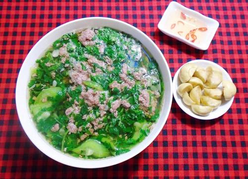 Canh cáy nấu mướp, rau đay thanh mát - Ảnh 3