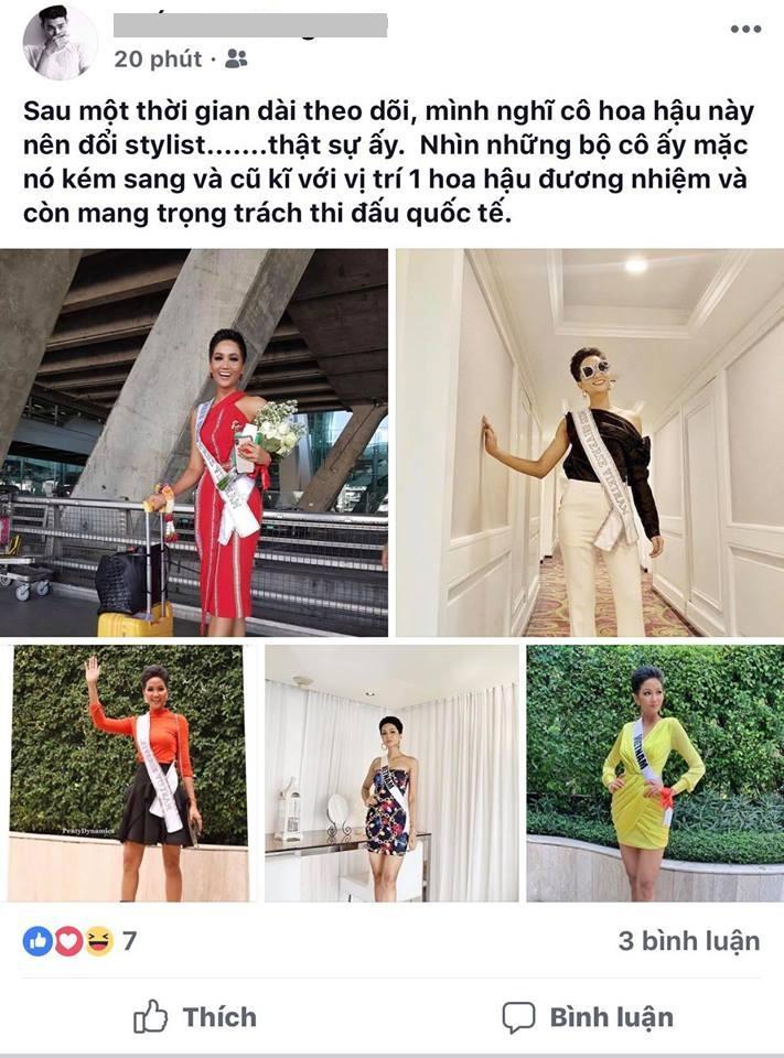 Đang thi Miss Universe, H'Hen Niê bị miệt thị 'quê mùa', fan bênh vực: 'Chị nghèo nên không thuê stylist' - Ảnh 1