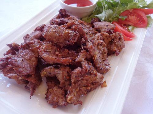 Thịt heo chiên khô lạ miệng cuối tuần - Ảnh 3