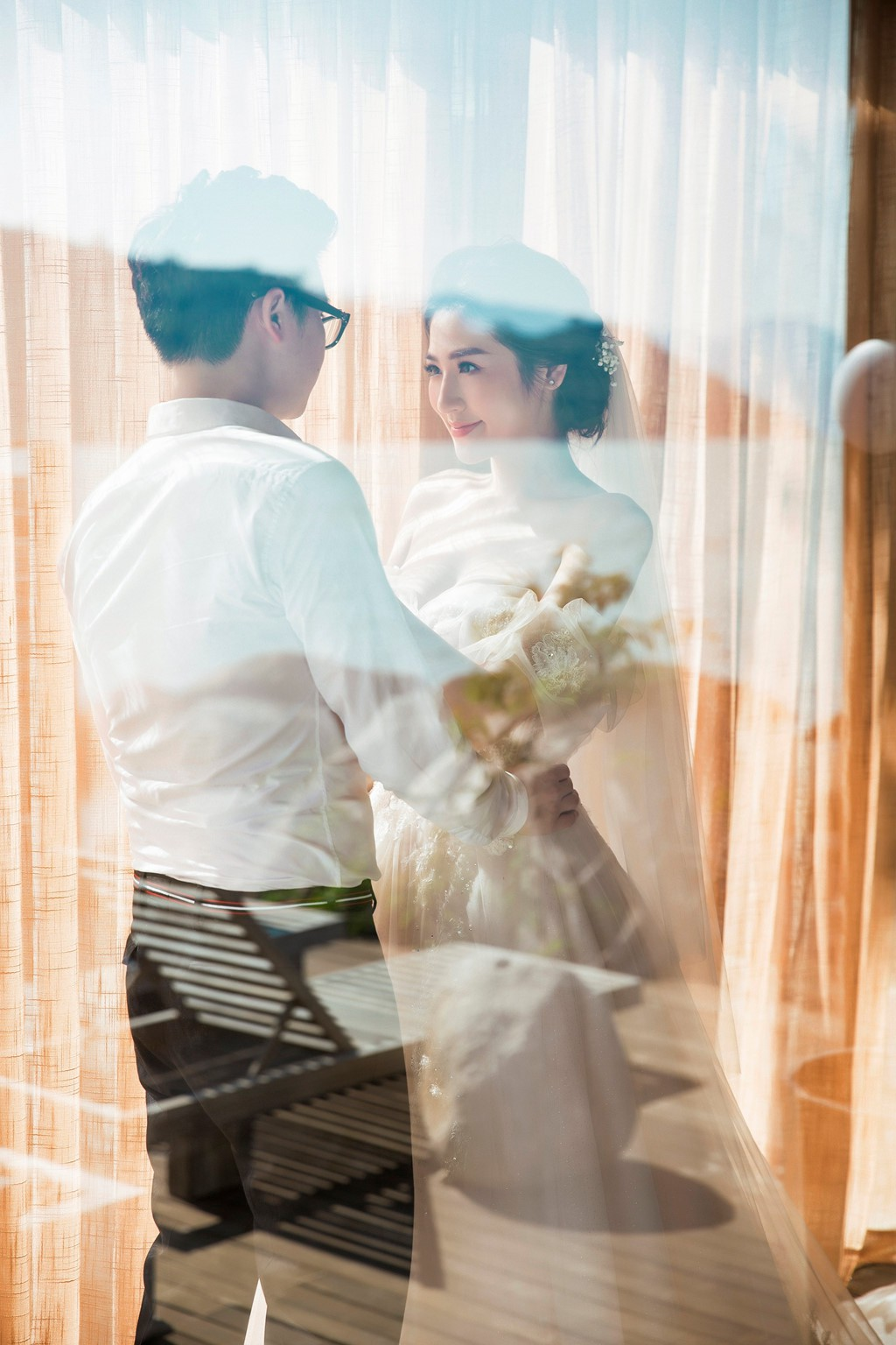 Mỹ nhân Việt nói gì trước tin đồn 'cưới chạy bầu'? - Ảnh 1