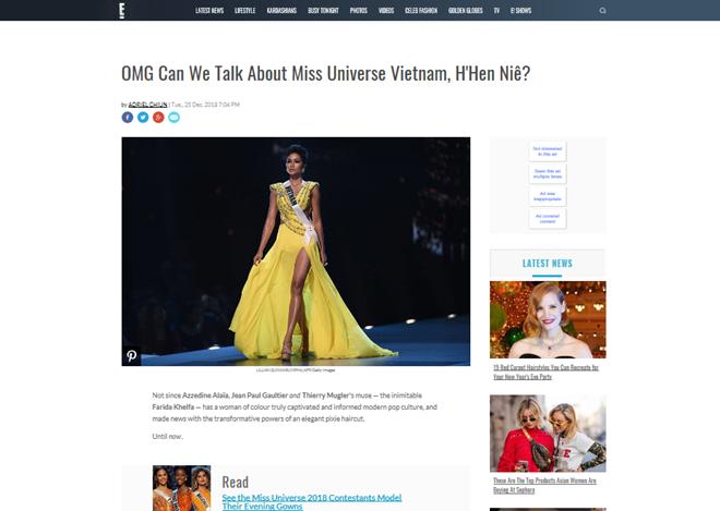 H'Hen Niê được báo Mỹ ngợi khen 'thay đổi chuẩn mực cái đẹp của Việt Nam' - Ảnh 1
