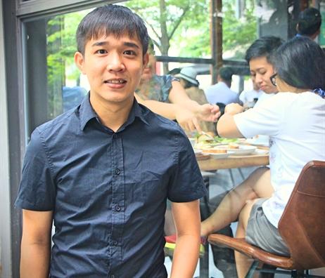 Bùi Thanh Tâm, chàng trai 9X mở chuỗi bánh mì Xin Chào nổi tiếng tại Nhật Bản. Ảnh: H.P