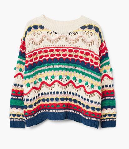 Những mẫu áo len đẹp cho mùa thu đông 2018 - Ảnh 8