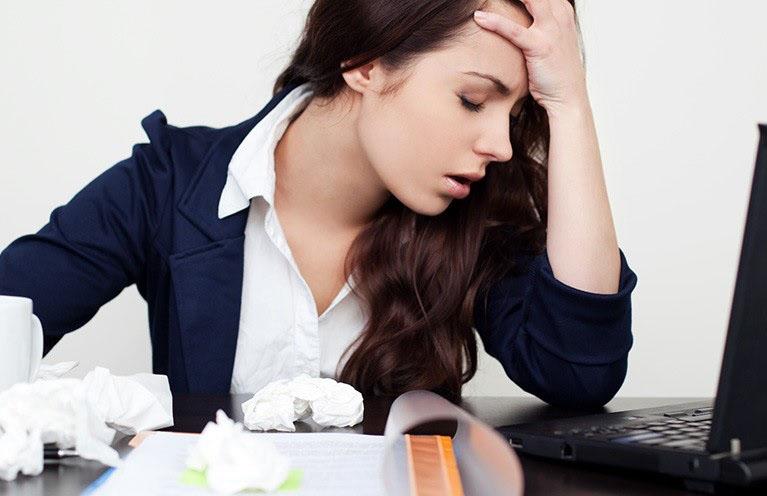 Mệt mỏi là một trong những dấu hiệu