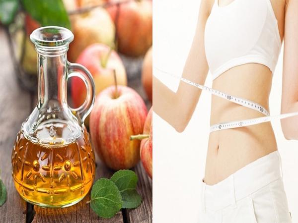 Nghiên cứu đã chứng minh, giấm táo có thể giúp giảm cân hữu hiệu