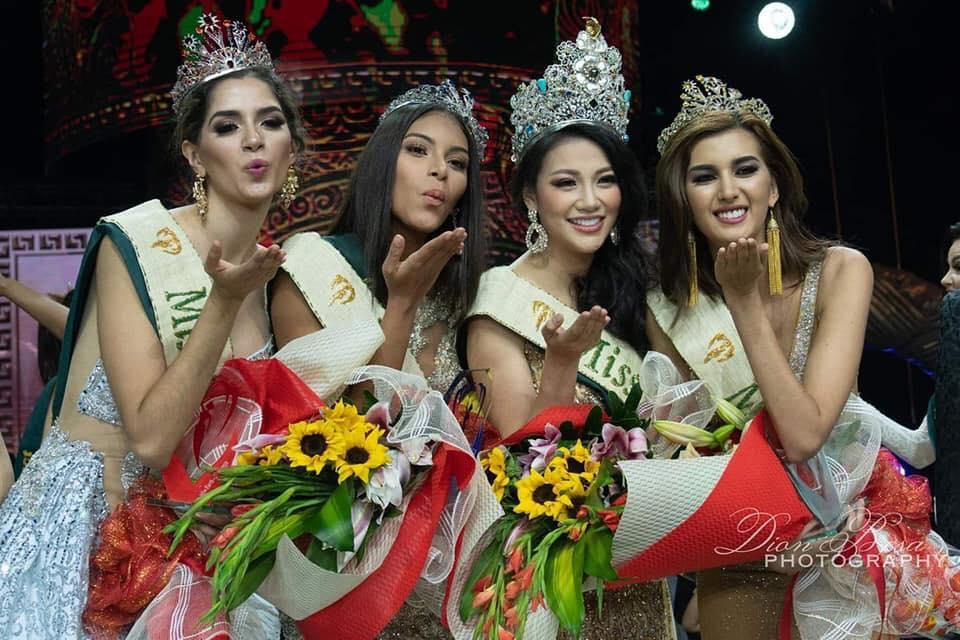 Bên cạnh đó, giải thuởng Á hậu 3 thuộc về Mexico, Á hậu 2 thuộc về Colombia. Đại diện Austria đoạt Á hậu 1. Ảnh minh họa: Internet