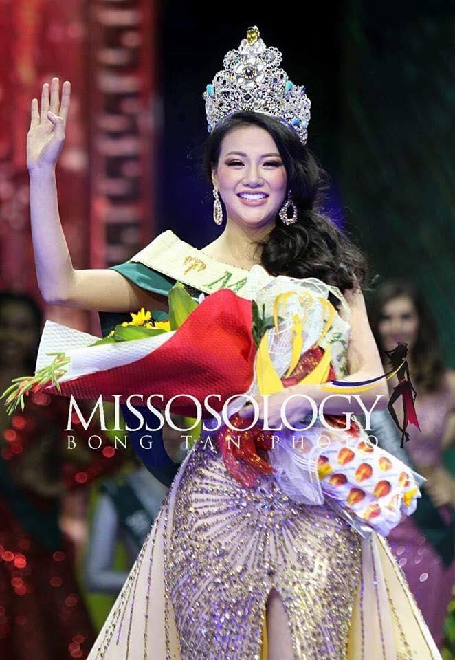 Tối 3/11, đêm chungkết Hoa hậu Trái đất 2018 diễn ra tại Philippines chứng kiến sự lên ngôi của nhan sắc Việt Nam. Theo đó, Nguyễn Phương Khánh có sự thể hiện đầy tự tin, liên tiếp mang về nhiều giải thưởng phụ trong cuộc thi. Ảnh minh họa: Internet