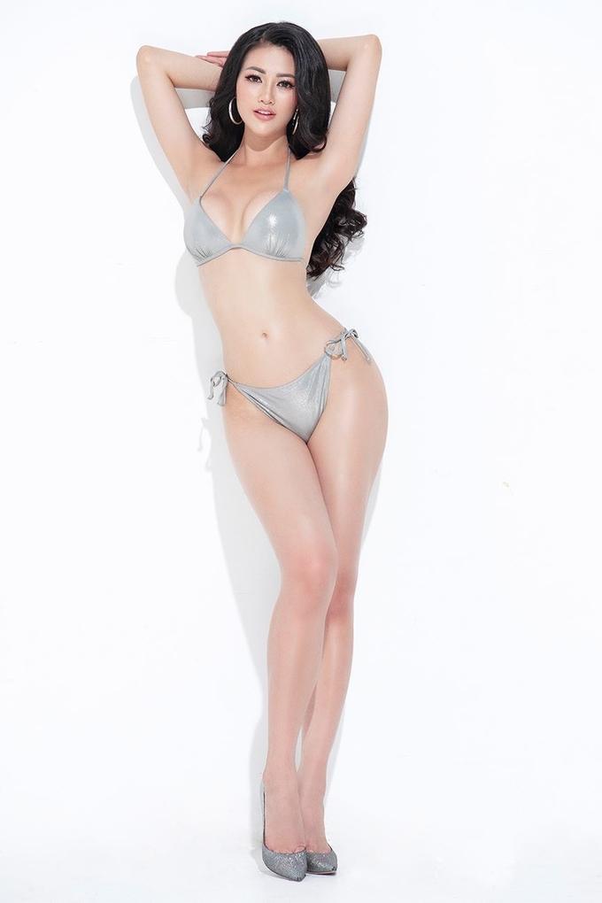 Trong khi nhiều thí sinh Miss Earth năm nay bị nhận xét tiêu cực về vóc dáng thì Phương Khánh lại nhận được nhiều lời khen ngợi về hình thể săn chắc, cân đối. Ảnh minh họa: Internet