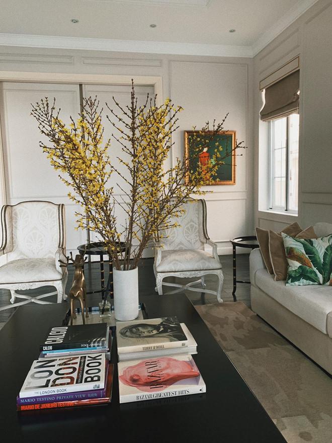 'Choáng váng' với căn biệt thự triệu đô tràn ngập sắc hoa đón Tết của Tăng Thanh Hà - Ảnh 2