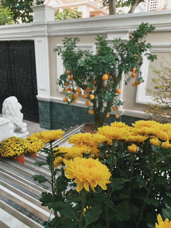 'Choáng váng' với căn biệt thự triệu đô tràn ngập sắc hoa đón Tết của Tăng Thanh Hà - Ảnh 7