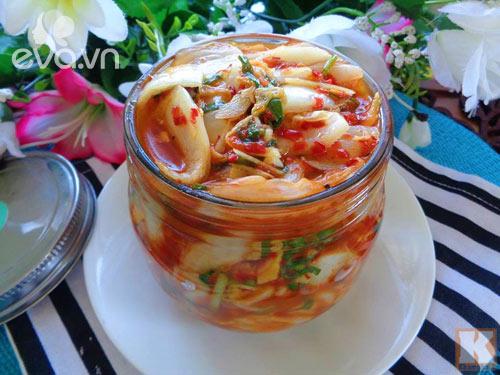 Cải thảo muối chua cay đơn giản, dễ làm - Ảnh 3