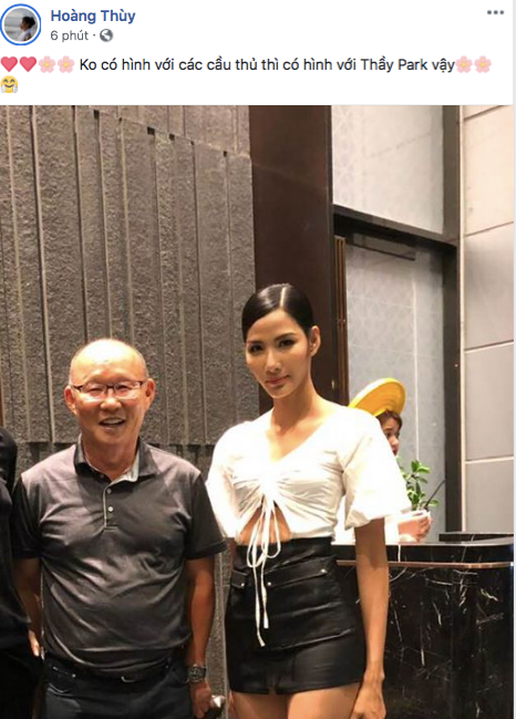 Tiểu Vy, H'Hen Nie đang thi nhan sắc quốc tế cũng rộn ràng mừng chiến thắng của ĐTVN - Ảnh 6