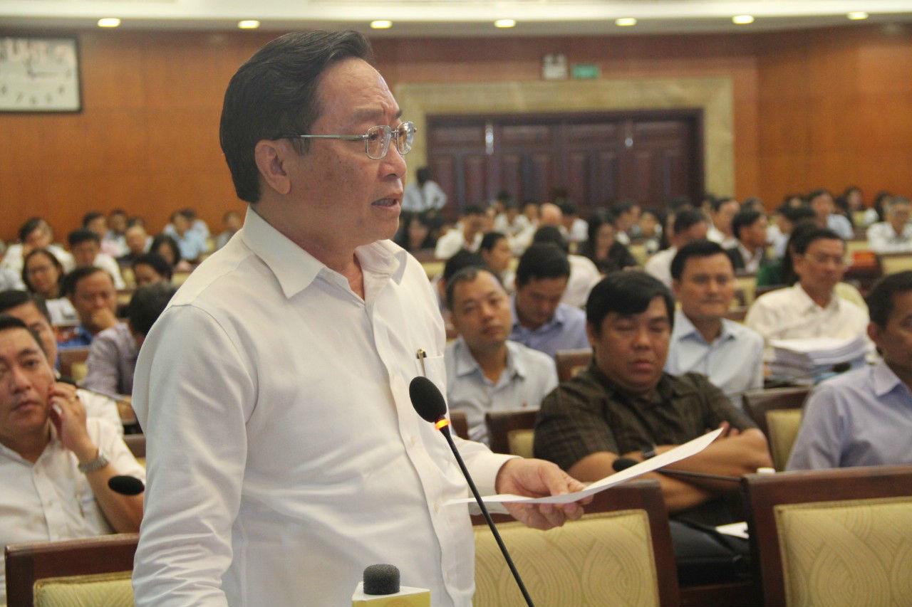 Giám đốc sở y tế TP.HCM Nguyễn Tấn Bỉnh