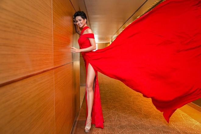 12 tuyệt tác giúp H'Hen Niê từ chân dài vô danh đến Top 5 Miss Universe 2018 - Ảnh 11