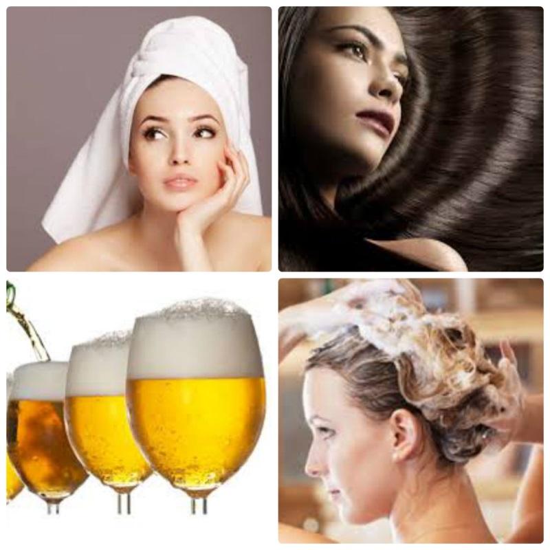 Ủ tóc bằng bia - Cách phục hồi tóc hư tổn nhanh chóng cho phái đẹp.