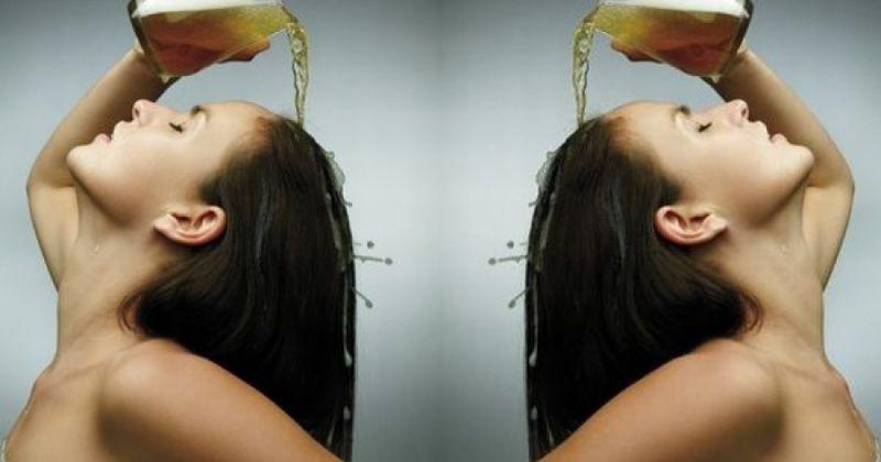 Gội đầu bằng bia - Cách phục hồi tóc hư tổn hiệu quả.