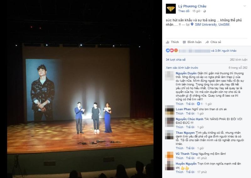 Mới bị phản bội, Lý Phương Châu bất ngờ cùng Lâm Vinh Hải sang Singapore hợp tác  - Ảnh 1