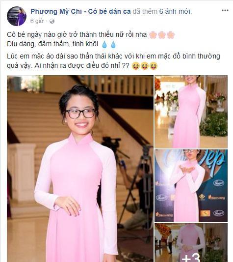 Phương Mỹ Chi khiến khán giả không còn nhận ra vì lớn phổng phao 'ăn đứt' gái 18 - Ảnh 1