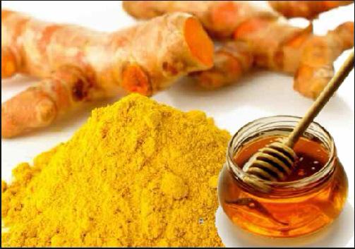 Phương pháp giảm cân với bột nghệ và mật ong - Ảnh: Internet