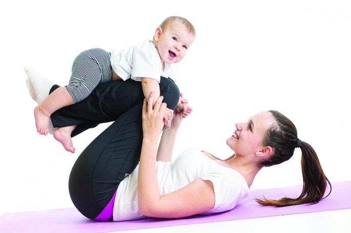 Tập thể dục là một phương pháp làm đẹp sau sinh toàn diện